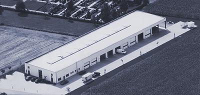 Behlau Fahrzeugbau, Halle in Verlar