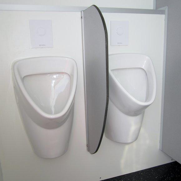 Toilettenwagen klein - 2 Urinalbecken -